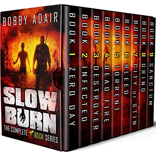 Buy Slow Burn Box Set: The Complete Post Apocalyptic Series