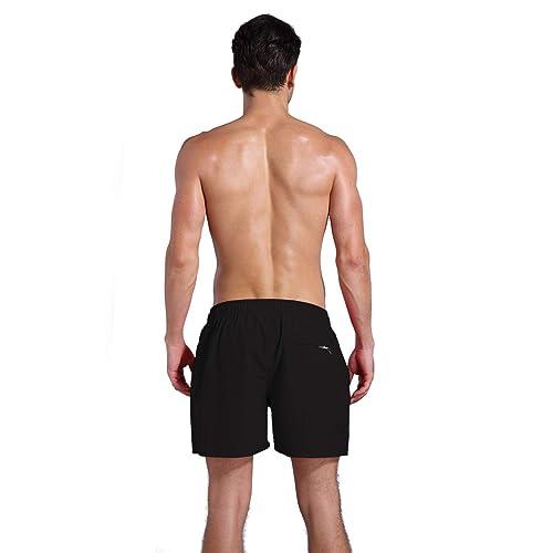 15a43cc6b2 PrevNext. PrevNext. QRANSS Men's Quick Dry Swim Trunks Bathing Suit Beach  Shorts