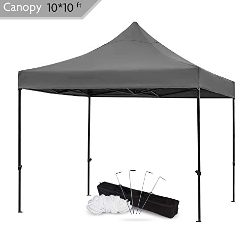 Snail 10x10 Ft Easy Pop Up Canopy Tent With Heavy Duty 420d Waterproof And Uv Treated Cover Shade For Beach Outdoor Commercial Tent Instant Sun Shelter Gazebo With Carrying Bag Black Buy Products