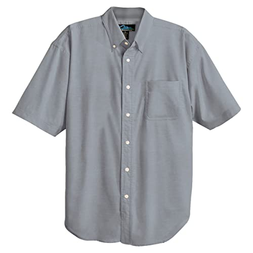 Tri-Mountain Mens Peak Performers Big and Tall Woven Shirt