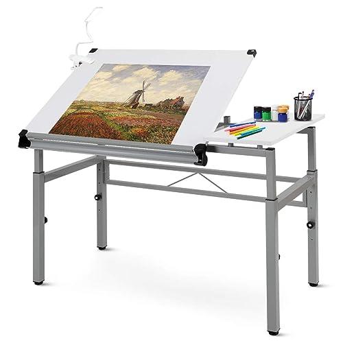 Wondrous Buy Tangkula Adjustable Drafting Table Art Craft Drawing Creativecarmelina Interior Chair Design Creativecarmelinacom