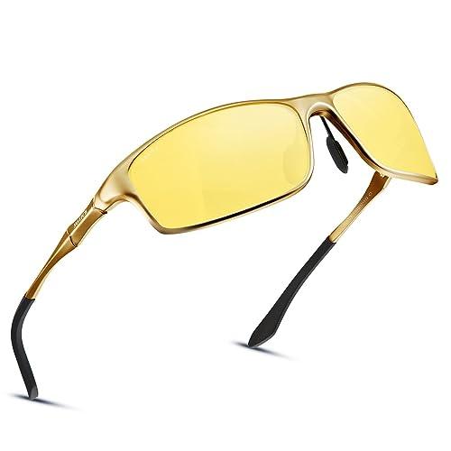 0410e2f68ffc Soxick Night Driving Polarized Glasses for Men Women Anti Glare Rainy Safe HD  Night Vision HOT
