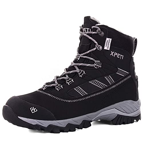 f91502fd693 Buy XPETI Men's Oslo Winter Snow Waterproof Hiking Boots with Ubuy ...