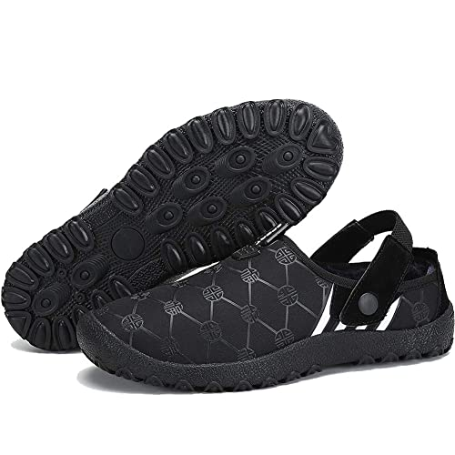7d12d0c87f931 PrevNext. PrevNext. ASLISA Mens Womens House Slippers Snow Winter Outdoor  Indoor ...