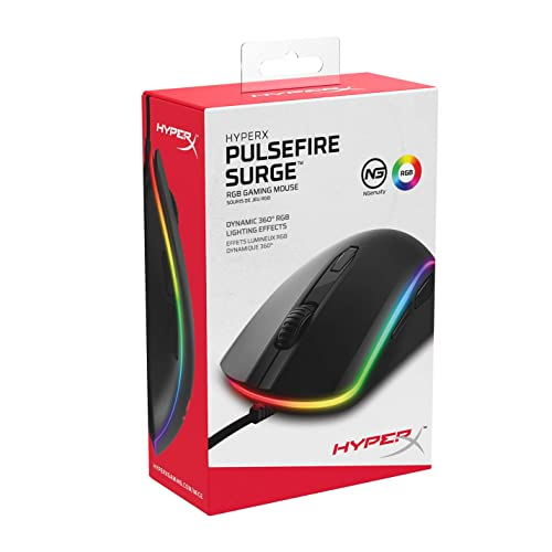 d42d75033b1 Buy HyperX Pulsefire Surge - RGB Wired Optical Gaming Mouse, Pixart ...