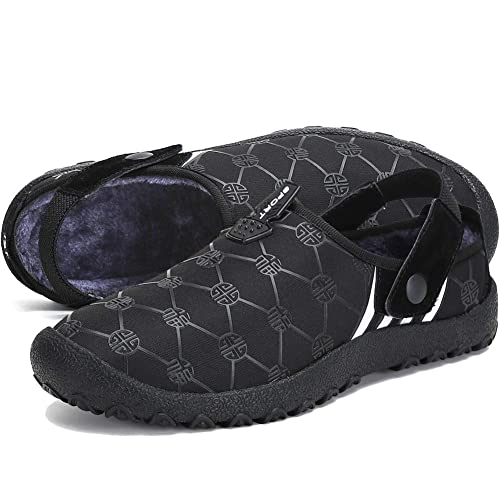391e59887d061 ASLISA Mens Womens House Slippers Snow Winter Outdoor Indoor Anti-Slip  Slippers