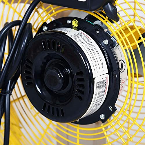 Buy STANLEY ST-20F High Velocity Direct Drive Floor Fan 20