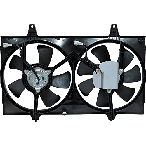 Universal Air Conditioner FA 50256C Dual Radiator and Condenser Fan Assembly