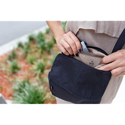dc7018691 Home; Travel Crossbody Purse - Hidden RFID Pocket - Includes Lifetime Lost  & Found ID. PrevNext