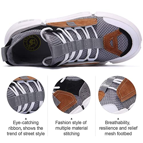 Lightweight Walking Shoes Fashion Sneaker Athletic Running Shoes for Men Shopping Activities CAMEL CROWN Running Shoes Men Sport Shoes for Running Walking