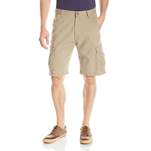 cf718b0f34 Buy Wrangler Authentics Men's Classic Relaxed Fit Cargo Short with ...