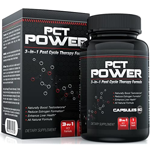 Buy #1 Post Cycle Therapy Supplement - 3-in-1 PCT Supplement with Estrogen Blocker Testosterone