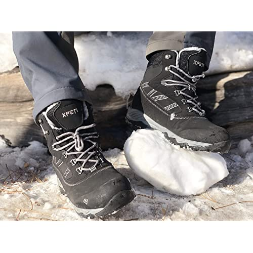 179bf30c453 Buy XPETI Men's Oslo Winter Snow Waterproof Hiking Boots with Ubuy ...