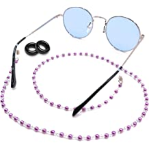 fed1d5954b0 Kalevel Eyeglass Chain Holder Glasses Strap Beaded Sunglass Chain Women  with Bonus .